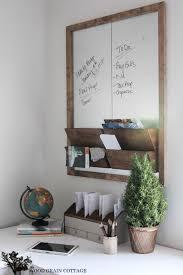 Office Wall Organizer Ideas Diy Office Wall Organizer Message Center Tutorial Fox Hollow Cottage