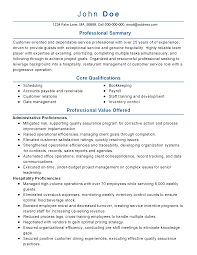 summary of qualifications on a resume professional customer service management templates to showcase resume templates customer service management