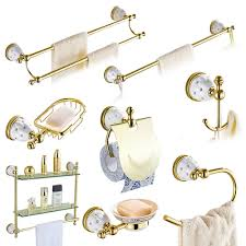 Bathroom Accessories by Online Get Cheap Gold Bathroom Accessories Sets Aliexpress Com