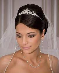 bridal tiara best 25 wedding tiara hair ideas on wedding hair with