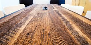 Red Oak Table by Broad Institute Reclaimed Red And White Oak Table And Bench