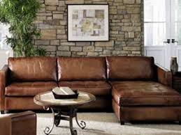 Leather Chaise Sofa Amaretto Artistic Leather Sectional Town Country Leather