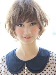wavy short japanese hairstyles short hair pinterest japanese