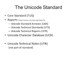 Unicode Character Table An Introduction Part I Unicode And Character Encodings Ppt Download