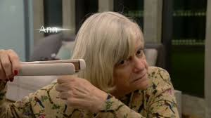 what type of hair is use for big box braids cbb s ann widdecombe trying to use hair straighteners is the