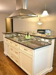 kitchen islands with stoves kitchen island with stove top kronista co