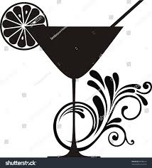 cocktail party silhouette cocktail party silhouette clip art clipart finders