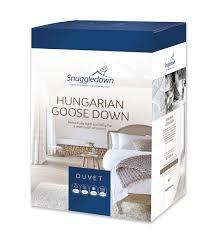 Down Duvets Snuggledown Goose Down Duvet Free Uk Delivery Terrys Fabrics