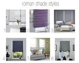 Pottery Barn Roman Shades Roman Shade Guide The Inexpensive Readymade And The