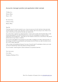 covering letter for job application in word format sample cover letter for account manager position