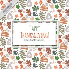 background for thanksgiving day vector free