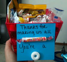 a gift i came up with for my nursing instructor she loved it