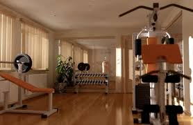 get fit in the private modern home with home gym design interior