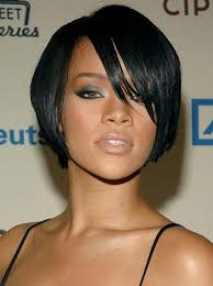 jet black short hair short hairstyles and cuts short jet black hair with peekaboo locks