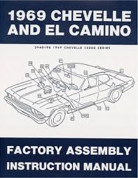 69 1969 chevelle el camino electrical wiring diagram manual on 69