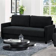 Commando Black Sofa Sofas Cymax Stores