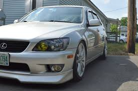 lexus is300 yonaka exhaust cx racing coilovers ride height lexus is forum
