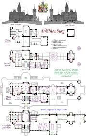 Scaled Floor Plan Drachenburg Castillo Piso Plan Planos De Casas Pinterest