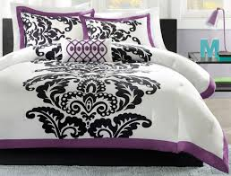 bedroom romantic bedroom for couple with damask bedding decor