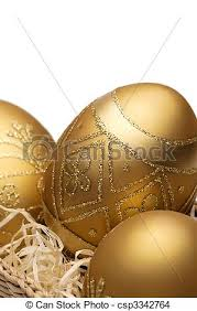 golden easter egg of golden easter eggs stock photo search photographs and