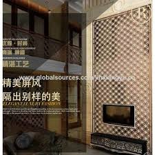 Gold Room Divider China Rose Gold Color Stainless Steel Screen Room Divider