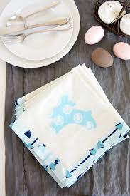 easter napkins how to sew easter napkins on polka dot chair