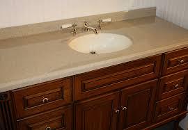 Custom Quartz Vanity Tops Bathroom Impressive Vanities Da Concrete Sink And Custom Vanity
