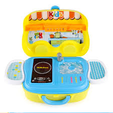 Kitchen Set Toys For Boys Kids Kitchen Playset Toy Pretend Play Set Cooking Bake Food