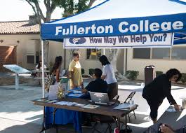 Fullerton College Campus Map Spring 2018 Information Booths Available Fullerton College News
