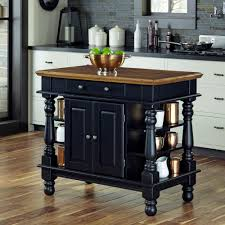 home styles americana black kitchen island with storage 5082 94