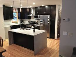 modern kitchen design ideas 2014 modern kitchen cabinets in island with waterfall countertop idolza