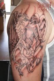 innovative angel sleeve tattoo for men tattooshunter com