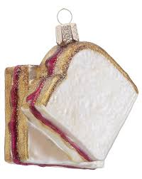 peanut butter jelly personalized ornament