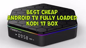 best cheap kodi streaming android tv 6 0 t95z plus kodi 17 ready
