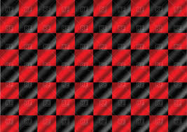 Geometric Flag Black And Red Background With Squares Racing Flag Royalty Free