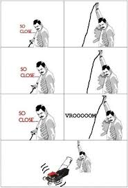 So Close Meme - so close meme rage comics lawn mower funny pictures best