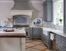 Blue Kitchen Cabinets Beautifully Colorful Painted Fascinating Blue Kitchen Cabinets