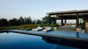 Modern House California A Modern Home In California U0027s Wine Country For An Indoor Outdoor