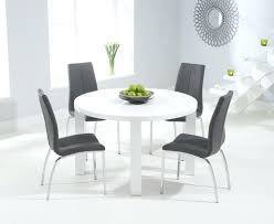 Gloss White Dining Table And Chairs Dining Table Set Artcercedilla