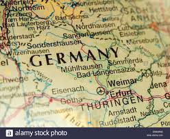 Germany On Map by Germany On A Map Close Up Stock Photo Royalty Free Image