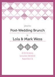 post wedding brunch invitations brunch invitations oubly
