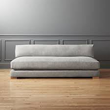 Gray Sofa Bed Modern Sofas And Couches Cb2