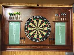 english pub style dart board created by mitchell longmeyer