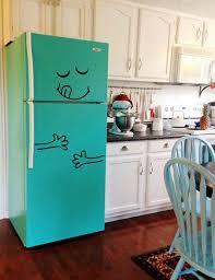 Orange And White Kitchen Ideas Best 25 Fridge Makeover Ideas On Pinterest Diy Apartment Decor