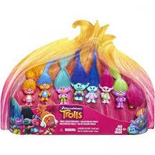 amazon black friday juguetes de disney amazon com dreamworks trolls movie collection pack 8 mini trolls