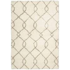 Neutral Area Rugs Nourison Galway Ivory 7 Ft 6 In X 9 Ft 6 In Area Rug