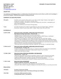 Resume With Qualifications Skills And Qualifications Resume Examples Template