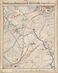 Danville Ohio Map confederate railroad maps