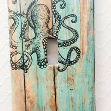 Octopus Light Best Nautical Light Switch Cover Products On Wanelo