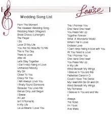 wedding songs whats a wedding song tbrb info